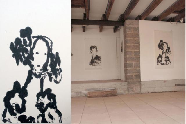 Visage 2013 140x70 cm - La Menuiserie 2014 Rodez