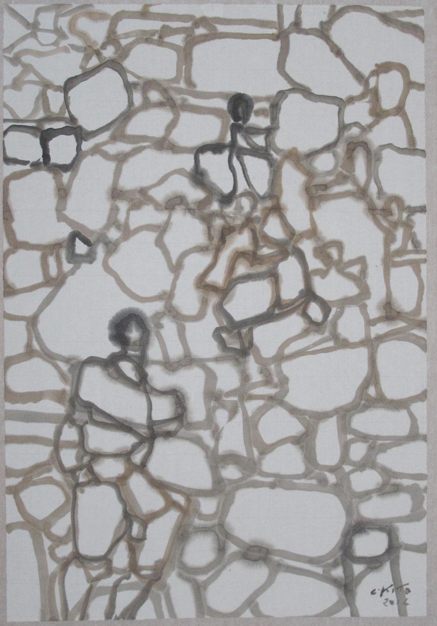 Muret 2014 32x21 cm